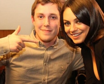 chris stark and mila kunis