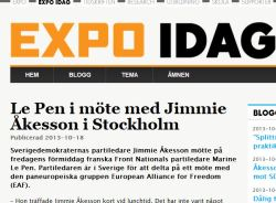 expo åkesson le pen