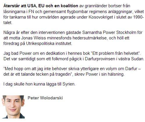 peter Wolodarski 25 augusti 2013