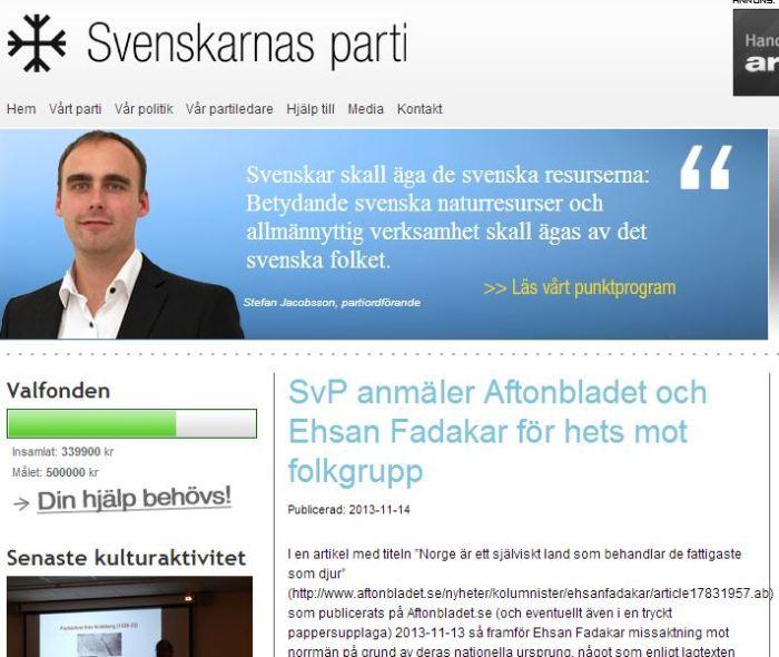 sveskarnas parti anäler aftonbladet för HMF