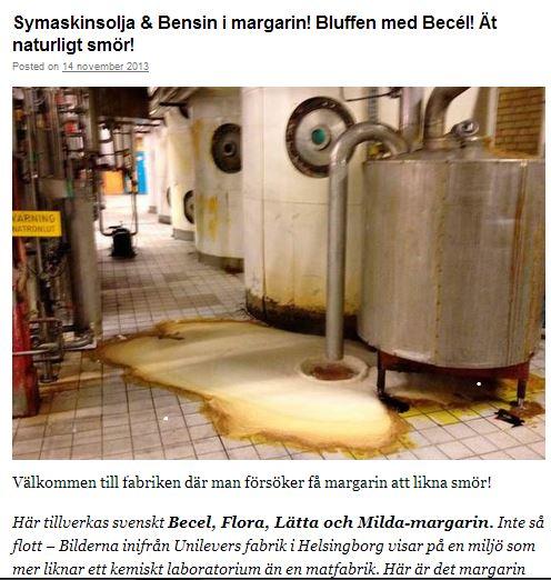 helena Palena smör och margarin