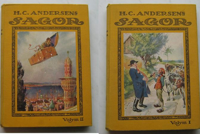 HC Andersen Sagor 1 och 2 Axel mMatthiesen