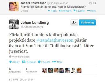Johan Lundberg zandra