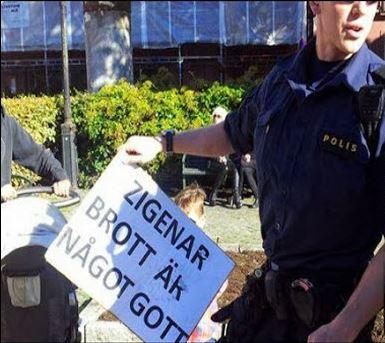zigenar brott något gott polis läsarbild sydsvenskan